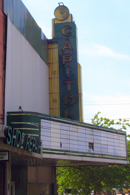Capitol Theater sign and marquee - Lebanon, TN