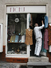 Fichu vintage fabric shop in Berlin