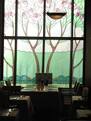 (blind_donkey) Tags: light glass finland restaurant design stainedglass artdeco interiordesign stainedglasswindow 2007 glassart