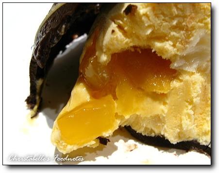 星巴克芒果冰淇淋月餅芒果顆粒