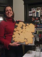 Rachel and the amalgamated cookies!