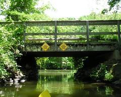 M27.8 BRIDGE K468: D&R Canal Trail Bridge over the Delaware and Raritan Canal, New Je