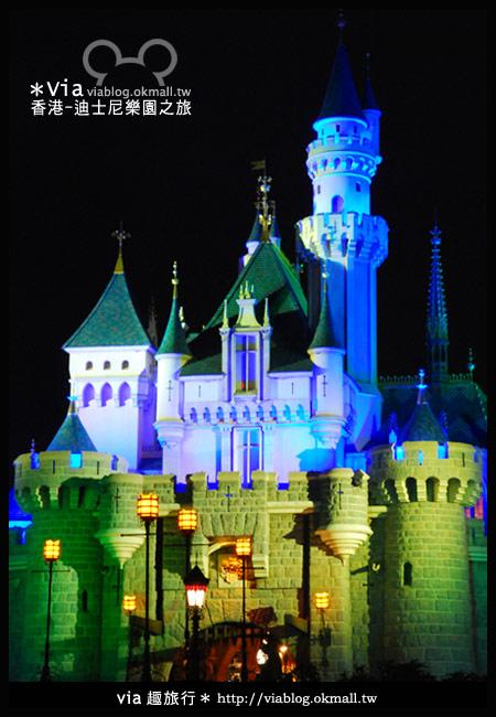 【香港旅遊】跟著via玩香港(2)~迪士尼萬聖節夜間遊行超精彩!24