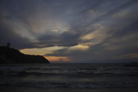 江の島経由で