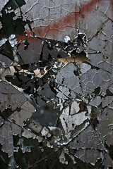 Crack (evaxebra) Tags: new texture broken glass mexico eva paint albuquerque rail nm shattered railyard ewa xebra evaxebra