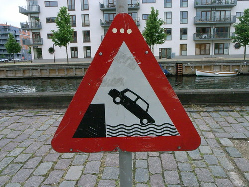 Drowning Danger For Cars