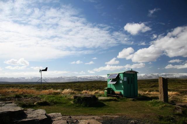 ¡No estás sola!. Máquina de vending en un remoto lugar de Islandia, subida a Flickr por Tom Olliver