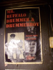 Vintage Drummer and Drummerboy  Poster - The Buffalo, Las Vegas (JoeInSouthernCA) Tags: gay leather drummer drummerboy thebuffalo lasvegasgaylife