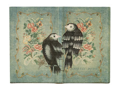 Two Birds (Katey Nicosia) Tags: art birds collage vintage print ephemera crows