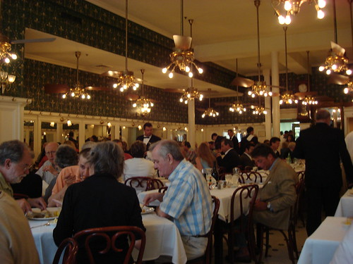 Interior at Galatoire's, New Orleans LA