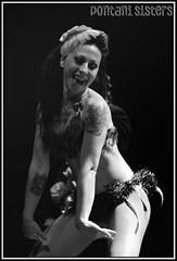 Pontani Sisters (disgustipado) Tags: rock surf twist bilbao rockroll burlesque bizkaia pontanisisters thegallery losstraitjackets straitjackets antzoki kaisergeorge twistparty disgustipado