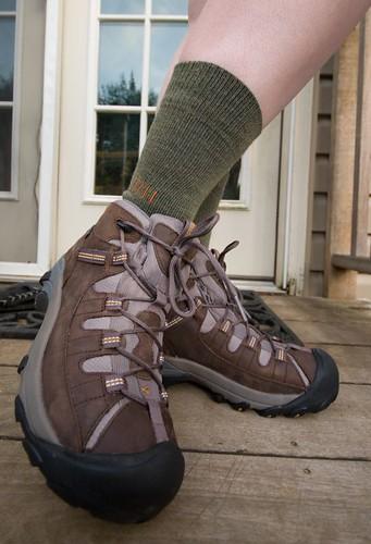 socks boots hiking keen smartwool