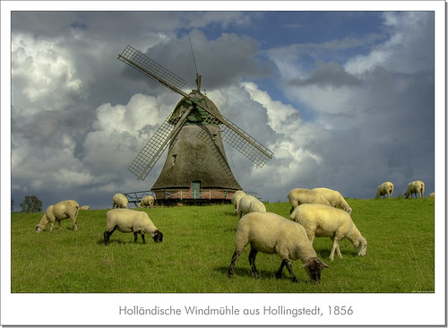 Old Windmill from 1856