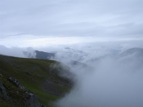 Low cloud over Affric