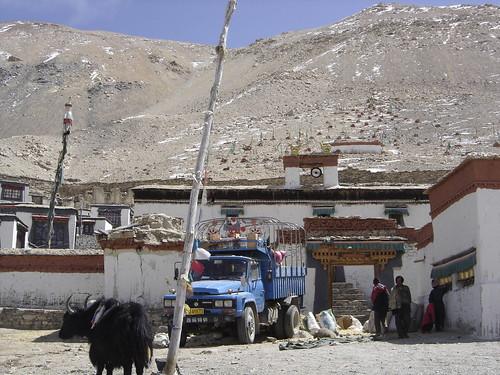 Monasterio Rongbuck junto al Everest