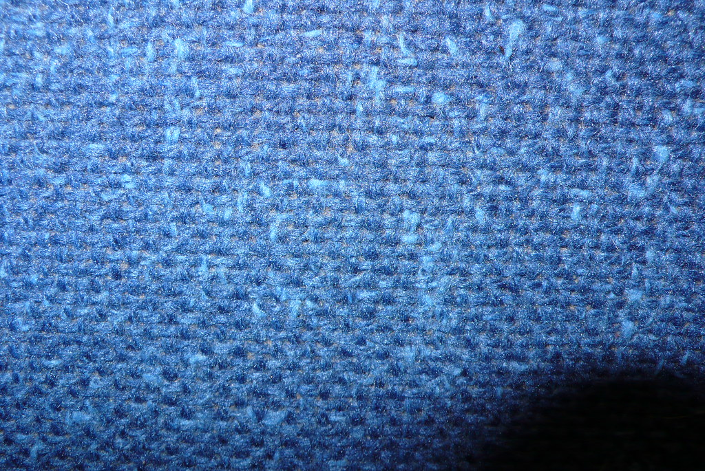 Upholstery lack-of-pattern