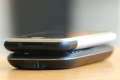 iPhone compared to HTC S620
