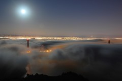 Persistence (Tyler Westcott) Tags: sanfrancisco california city longexposure urban fog skyline night lights explore goldengatebridge hawkhill sfchronicle96hrs nikond40