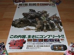 Metal Slug Complete (Video Game Posters) Tags: new uk 2 italy usa 6 3 game art japan shop germany poster psp japanese 1 video promo flyer european silent 10 5 sony 4 hill nintendo arcade ds evil 7 8 9 halo australia xbox 360 mario sonic retro collection final fantasy rpg ps1 microsoft posters sega zelda merchandise dreamcast ps2 promotional import flyers rare seller biohazard gamecube bemani jpn beatmania sealed resident ps3 shenmue castlevania wii