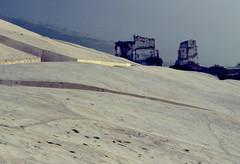 Il Cretto di Burri (Carlo Columba) Tags: italia sicily architettura sicilia burri trapani rovine terremoto cretto gibellina originalediapositiva