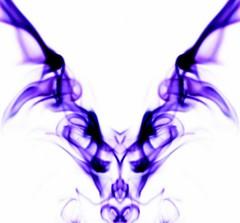 Blue Smoke Face (Weeping-Willow Photography) Tags: smoke smoking mirrored smoky mirrorimage cigarettesmoke