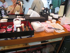 Geisha Makeover - Makeup (lu_lu) Tags: me japan tokyo costume lulu geiko geisha luis lu