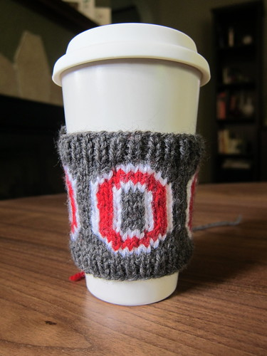 #129 - Ohio State Coffee Sleeve
