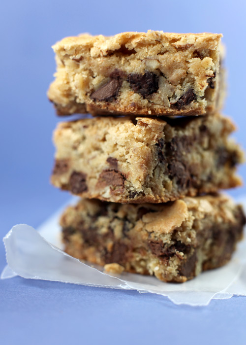... DELICIOSAS!!!...: Barras con chocolate chips..(Congo bars