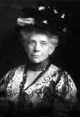 Christine Ladd Franklin ca.1910. Courtesy: Ferdinand Hamburger Archives of The Johns Hopkins University