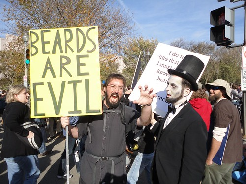 Beards Are Evil, cc by-nc image from jwelcher on Flickr