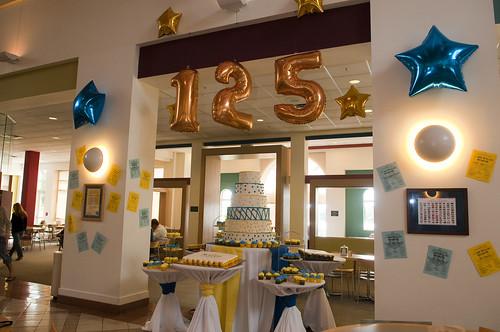 Rollins 125 Birthday Cake