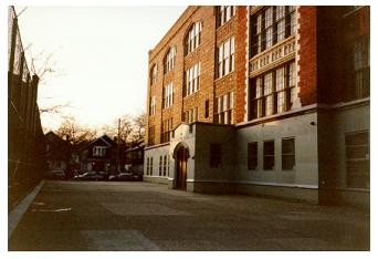 P.S. 99, Brooklyn, 1996: Yard