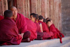 chanting (Maggie's World ...) Tags: china prayer ceremony tibetan chanting taersi youngmonks