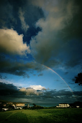 After the rain... a rainbow (s0ulsurfing) Tags: ocean blue light shadow sea summer sky cliff cloud sun sunlight green beach nature water beautiful field grass rain weather rock clouds canon wow island bay coast amazing rainbow rocks skies shadows searchthebest natural bright wind patterns gorgeous wide fluffy wideangle cliffs coastal isleofwight stunning getty coastline rainbows fabulous drama isle soe breathtaking nube wight meteorology 2007 freshwater nephology 10mm freshwaterbay sigma1020 s0ulsurfing shieldofexcellence anawesomeshot aplusphoto ultimateshot diamondclassphotographer