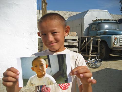 Kazakh Boy, Aralsk
