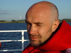 squinting (bike2chemnitz) Tags: summer boot boat sommer verano t rgen hiddensee sommar 2101196822051968 bike2chemnitz