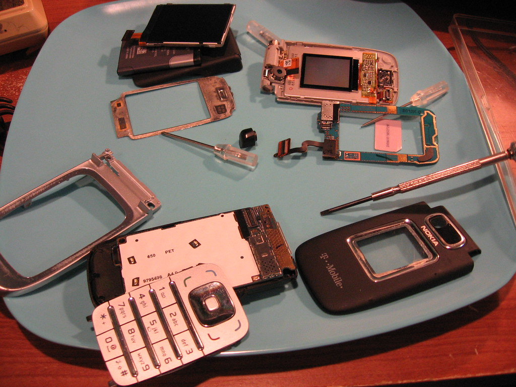 nokia 6133 repair 2