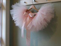 pink tutu (rubyandmyrtle) Tags: pink ballet girl toddler child play stitch handmade ribbon etsy satin tulle tutu pretend
