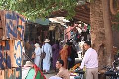 Marrakech souq (Vince Millett) Tags: market hijab morocco marrakech souk marrakesh souq