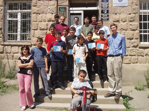Computer Camp participants