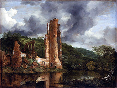 Ruisdael_Ruins_of_Egmond_Castle_C.1655_AIC_Chicago