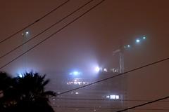 Martian Construction Zone (boeke) Tags: light arizona storm dusty phoenix night construction downtown atmosphere az cranes monsoon mysterious boeke maritan jbcom
