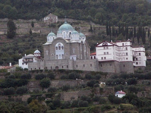 Mount Athos Monastery 01
