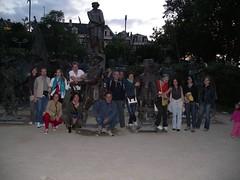 Rembrandt plein (a.turchetto) Tags: amsterdam zeppelin alberto bici lucia alessandro