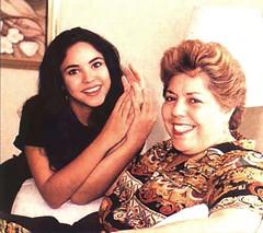 shakira con su madre