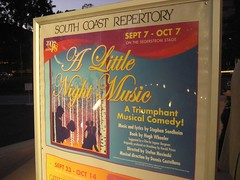 "I loved this production of ""A Little Night Music."" (09/11/07)"
