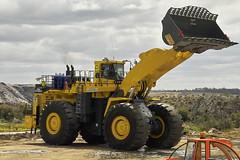 Komatsu WA1200 (dalinean) Tags: big mine large machine australia mining huge wa loader komatsu immense digger westaustralia miningmachinery wa1200