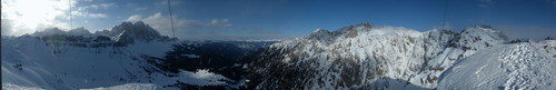 Col di Poma - Vista panoramca scattata da Andrea Garzetti