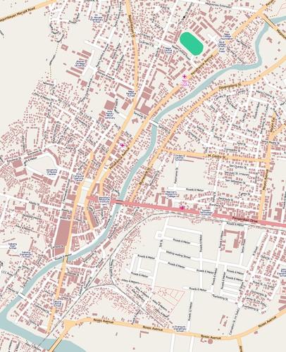 Naga City GIS data import