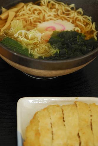 Tonkatsu Ramen set - _DSC8499